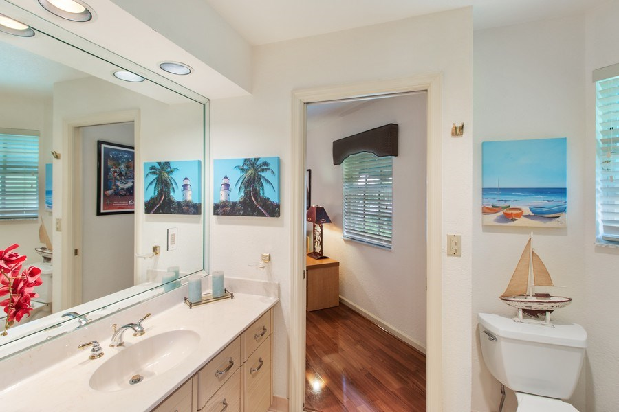 Real Estate Photography - 23102 Lermitage Circle, Boca Raton, FL, 33433 - 2nd Bathroom