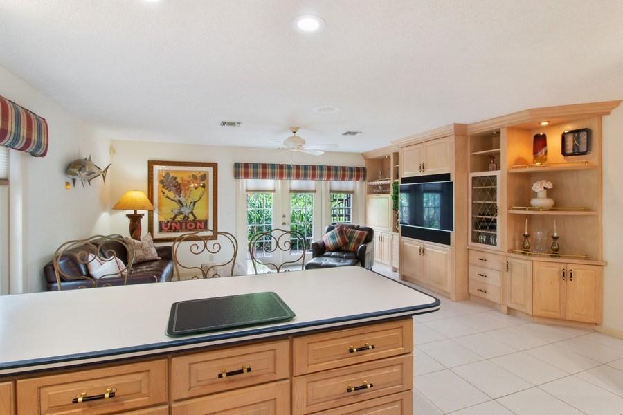 Real Estate Photography - 23102 Lermitage Circle, Boca Raton, FL, 33433 - Family Room / Kitchen