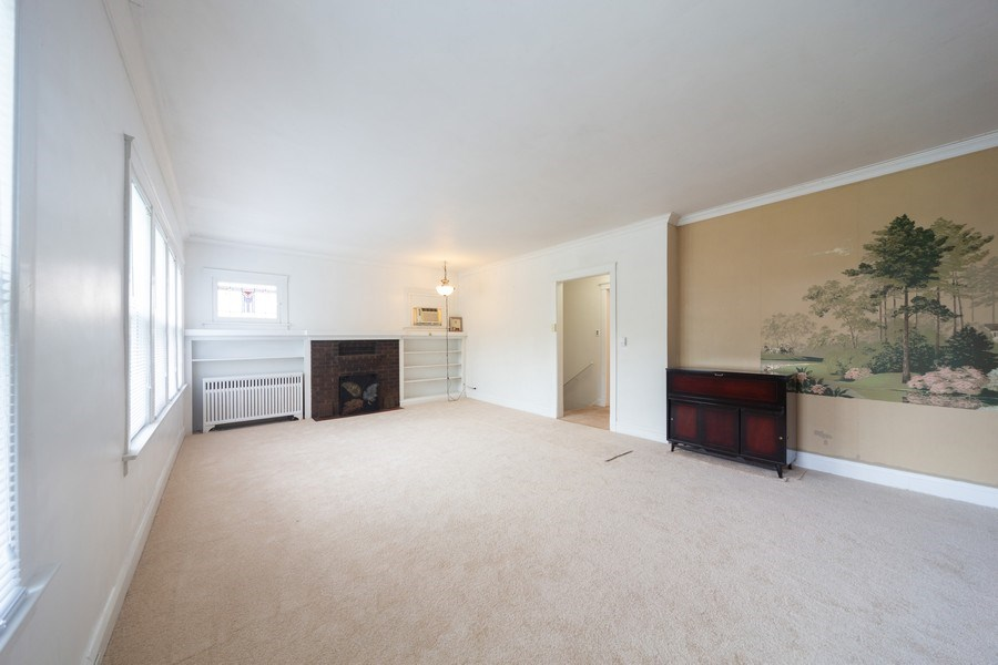 Real Estate Photography - 4031 W. Wellington Avenue, Chicago, IL, 60641 - Living Room