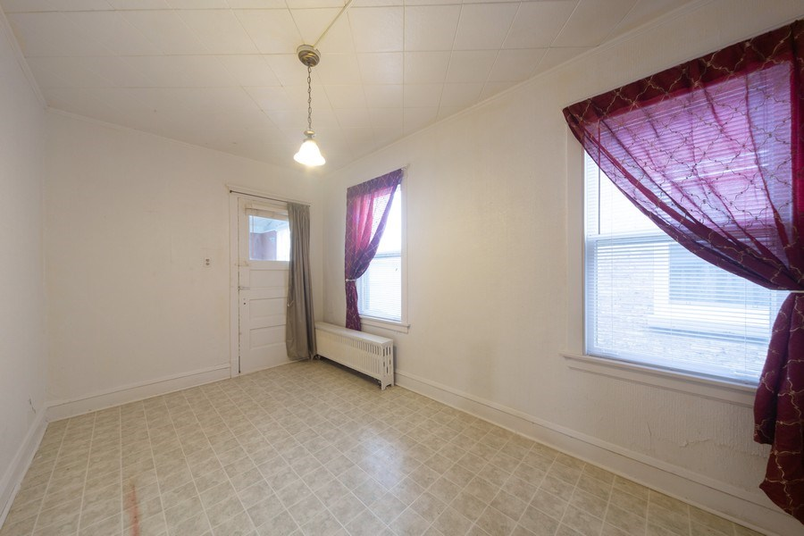 Real Estate Photography - 4031 W. Wellington Avenue, Chicago, IL, 60641 - Family Room