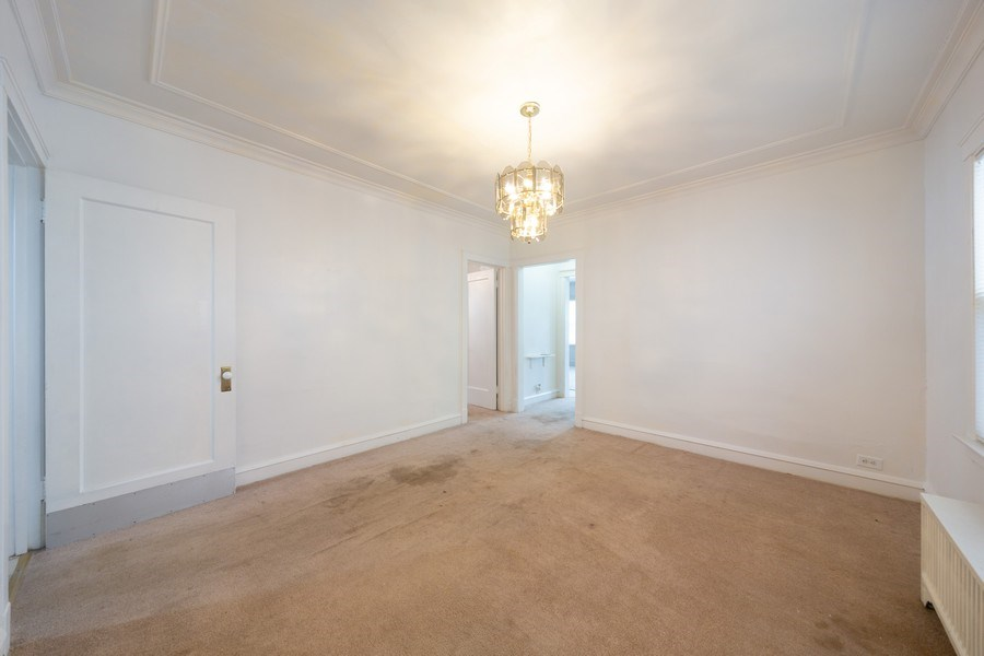 Real Estate Photography - 4031 W. Wellington Avenue, Chicago, IL, 60641 - Dining Room