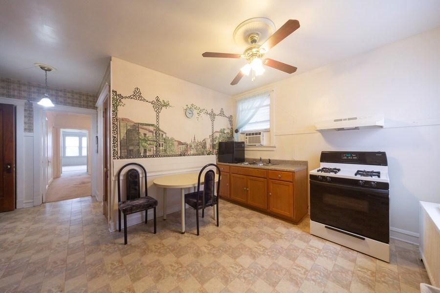 Real Estate Photography - 4031 W. Wellington Avenue, Chicago, IL, 60641 - Kitchen