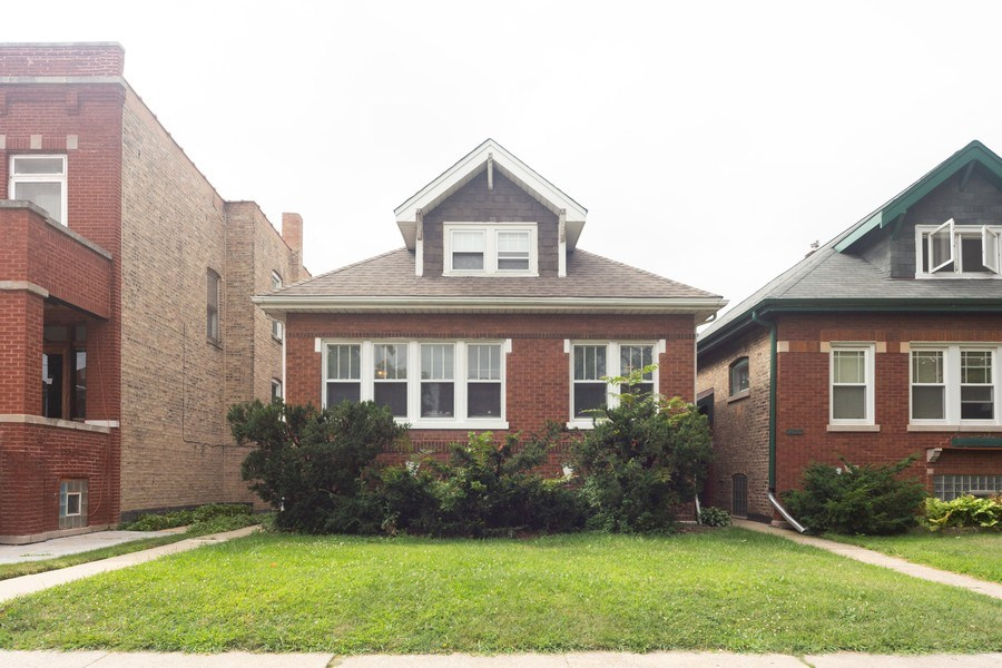 Real Estate Photography - 4031 W. Wellington Avenue, Chicago, IL, 60641 - Front View