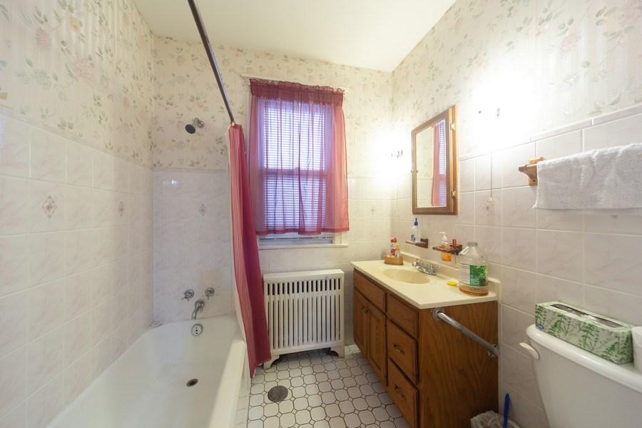 Real Estate Photography - 4031 W. Wellington Avenue, Chicago, IL, 60641 - Bathroom