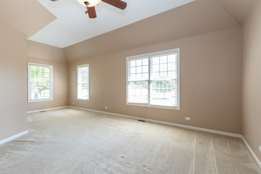 Real Estate Photography - 9106 Turnberry Trl, Lakewood, IL, 60014 - Master Bedroom
