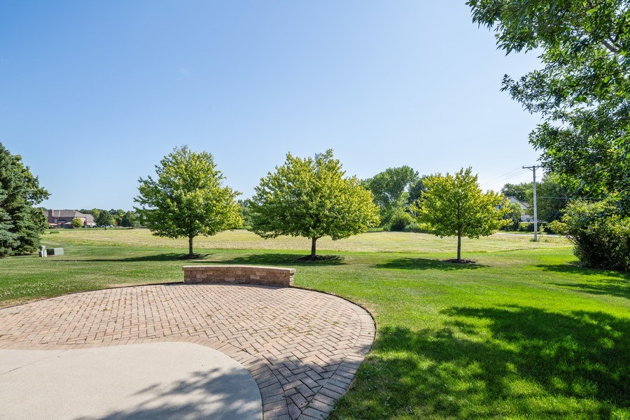 Real Estate Photography - 9106 Turnberry Trl, Lakewood, IL, 60014 - Back Yard
