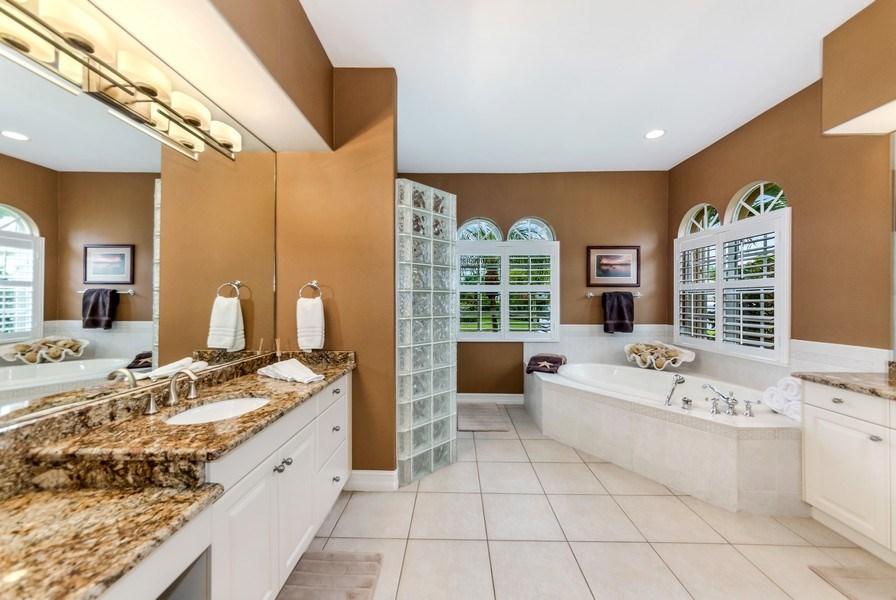 Real Estate Photography - 14560 Ocean Bluff Dr, Fort Myers, FL, 33908 - Master Bathroom
