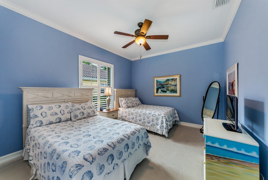 Real Estate Photography - 14560 Ocean Bluff Dr, Fort Myers, FL, 33908 - 3rd Bedroom