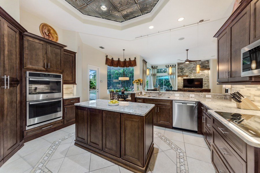 Real Estate Photography - 14560 Ocean Bluff Dr, Fort Myers, FL, 33908 - Kitchen
