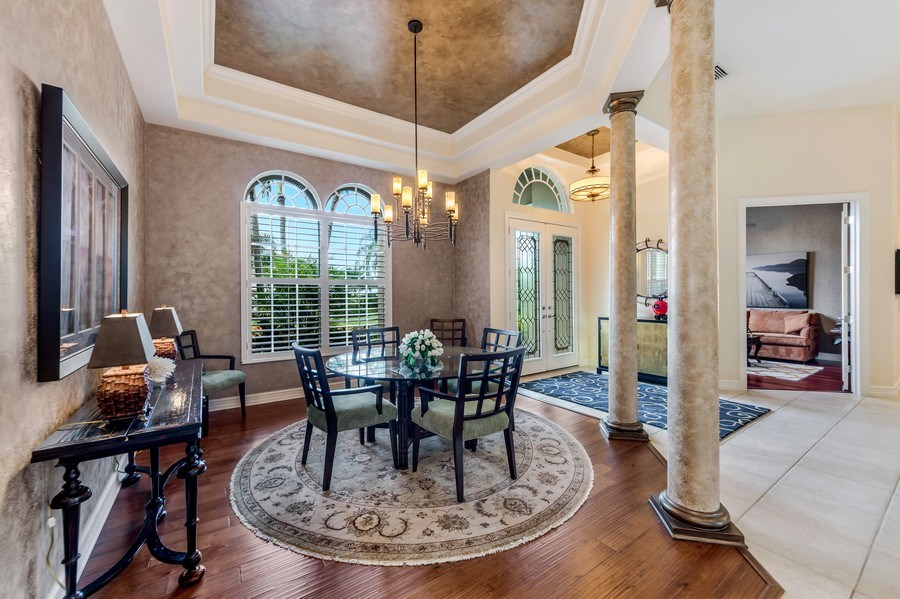 Real Estate Photography - 14560 Ocean Bluff Dr, Fort Myers, FL, 33908 - Dining Room
