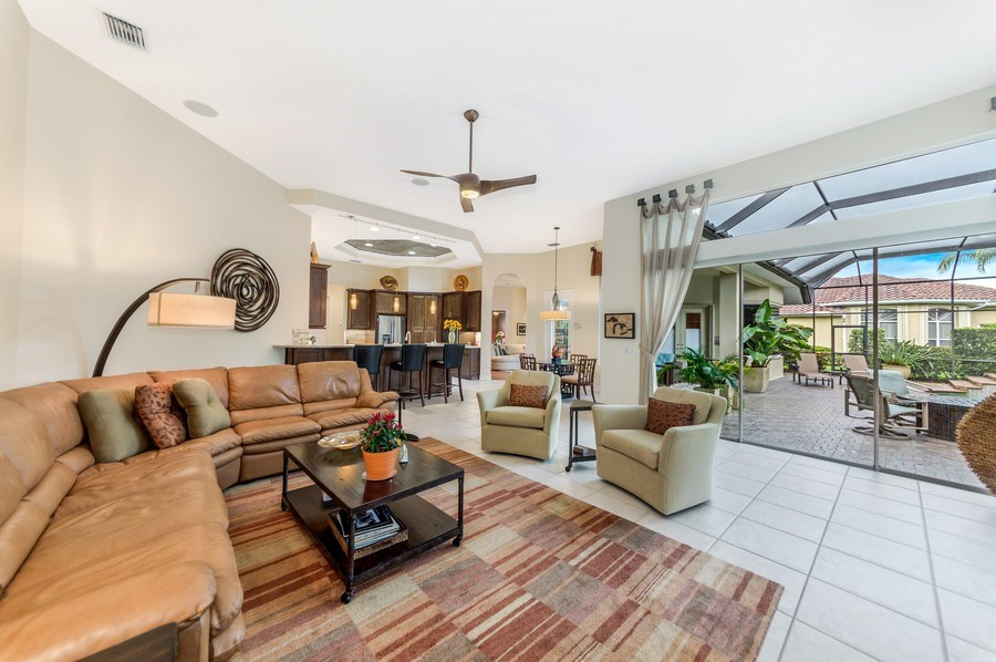 Real Estate Photography - 14560 Ocean Bluff Dr, Fort Myers, FL, 33908 - Great Room