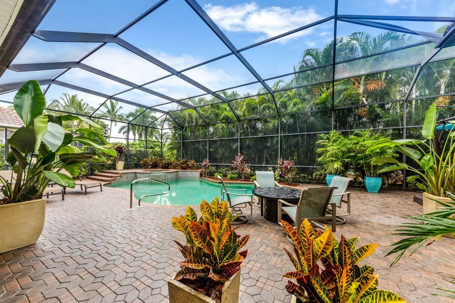 Real Estate Photography - 14560 Ocean Bluff Dr, Fort Myers, FL, 33908 - Pool
