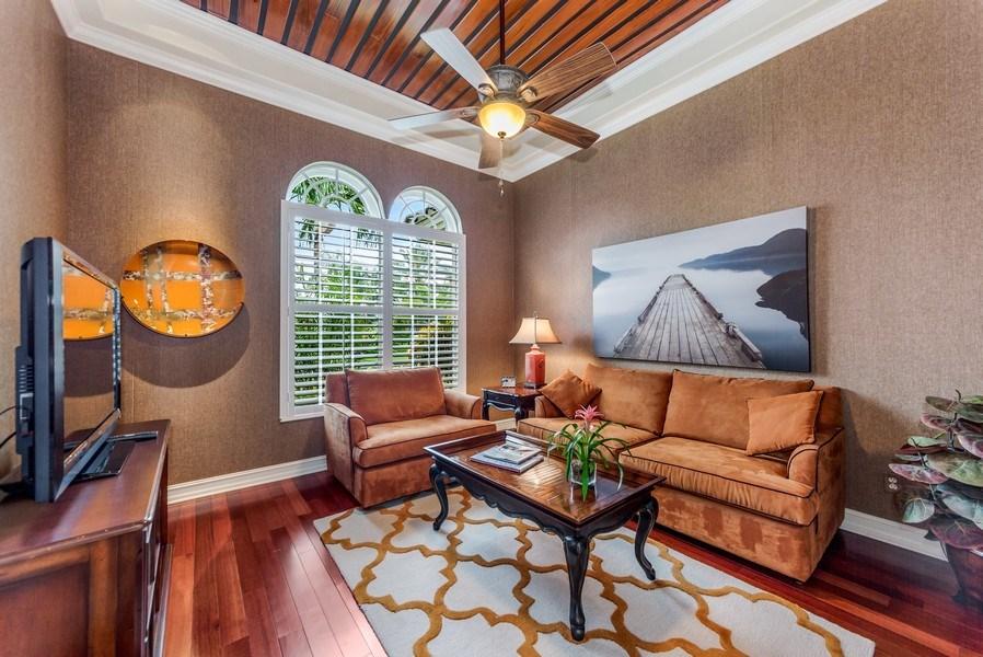 Real Estate Photography - 14560 Ocean Bluff Dr, Fort Myers, FL, 33908 - Den