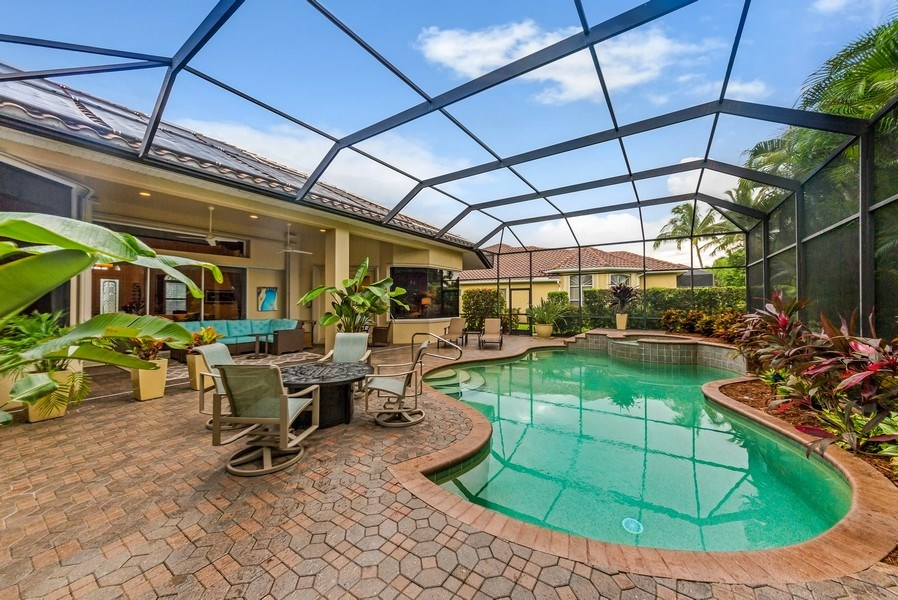 Real Estate Photography - 14560 Ocean Bluff Dr, Fort Myers, FL, 33908 - Lanai