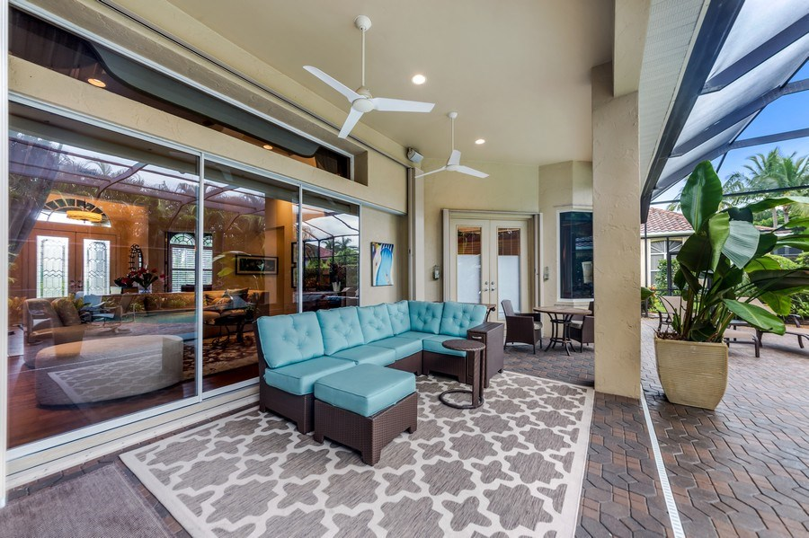 Real Estate Photography - 14560 Ocean Bluff Dr, Fort Myers, FL, 33908 - Patio