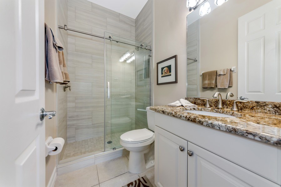 Real Estate Photography - 14560 Ocean Bluff Dr, Fort Myers, FL, 33908 - 2nd Bathroom