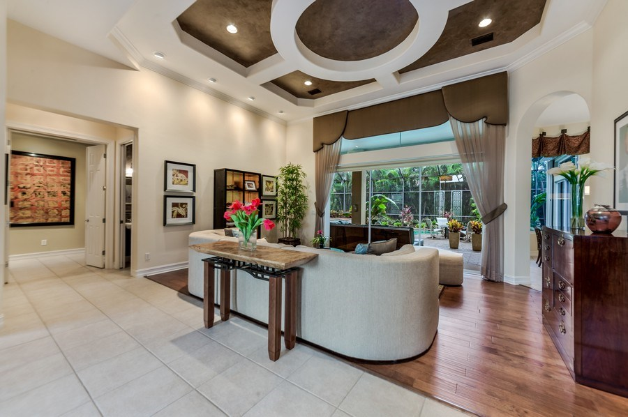 Real Estate Photography - 14560 Ocean Bluff Dr, Fort Myers, FL, 33908 - Living Room / Dining Room