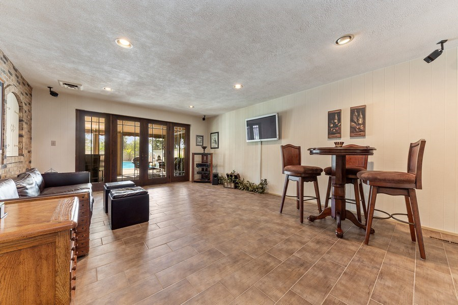 Real Estate Photography - 9 Woodridge, Oakbrook, IL, 60126 - Recreation Room