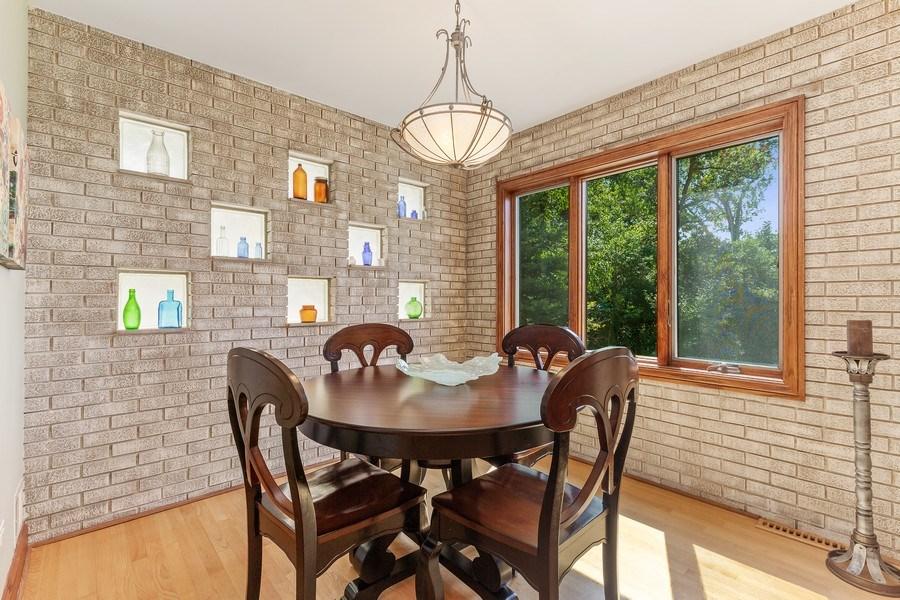Real Estate Photography - 9 Woodridge, Oakbrook, IL, 60126 - Breakfast Room