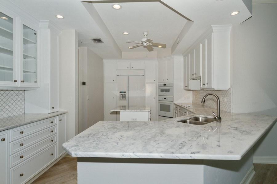 Real Estate Photography - 4811 ISLAND POND CT #704, Bonita Springs, FL, 34134 - Kitchen