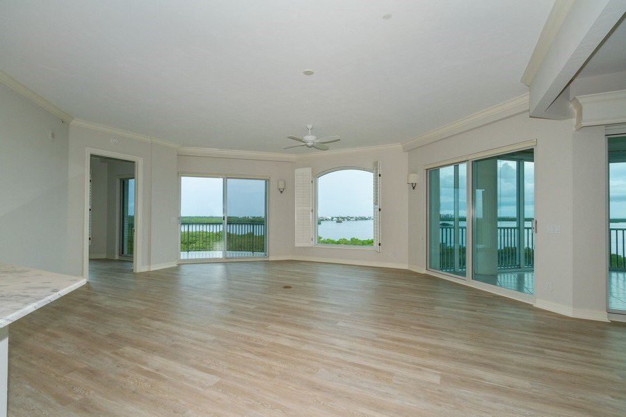 Real Estate Photography - 4811 ISLAND POND CT #704, Bonita Springs, FL, 34134 - Family Room