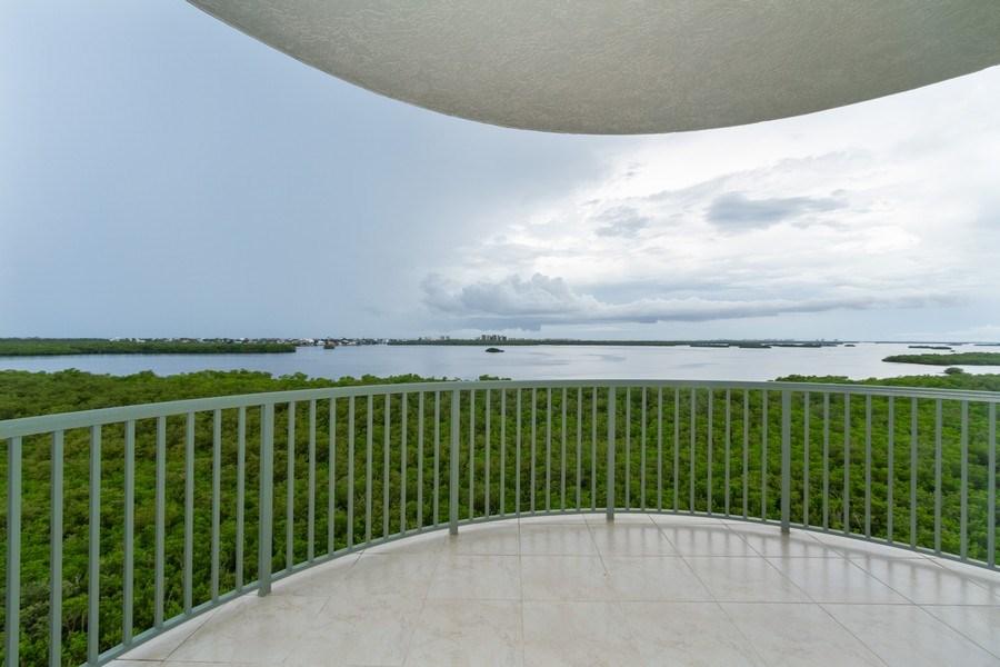 Real Estate Photography - 4811 ISLAND POND CT #704, Bonita Springs, FL, 34134 - Balcony