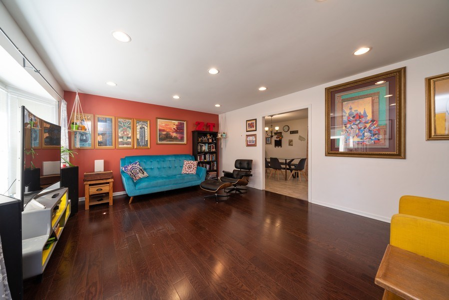 Real Estate Photography - 963 N Highland Ave, Aurora, IL, 60506 - Living Room