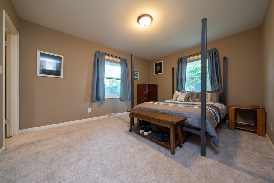 Real Estate Photography - 963 N Highland Ave, Aurora, IL, 60506 - Master Bedroom