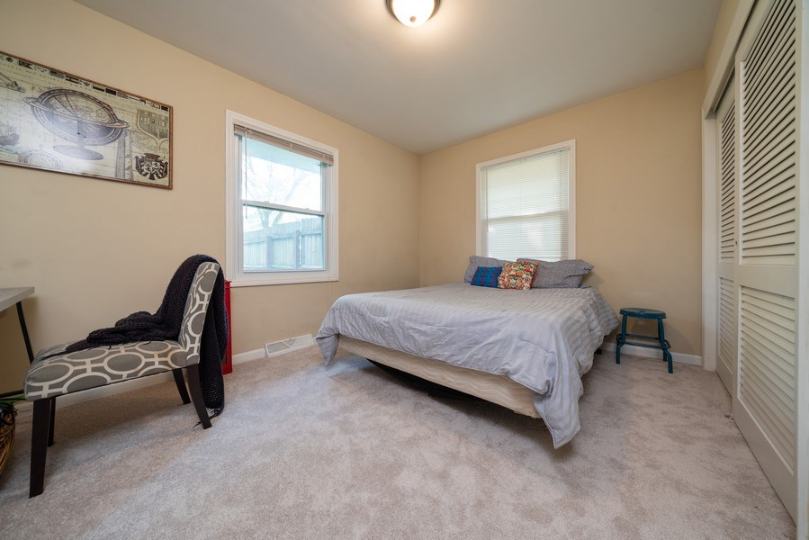 Real Estate Photography - 963 N Highland Ave, Aurora, IL, 60506 - 2nd Bedroom
