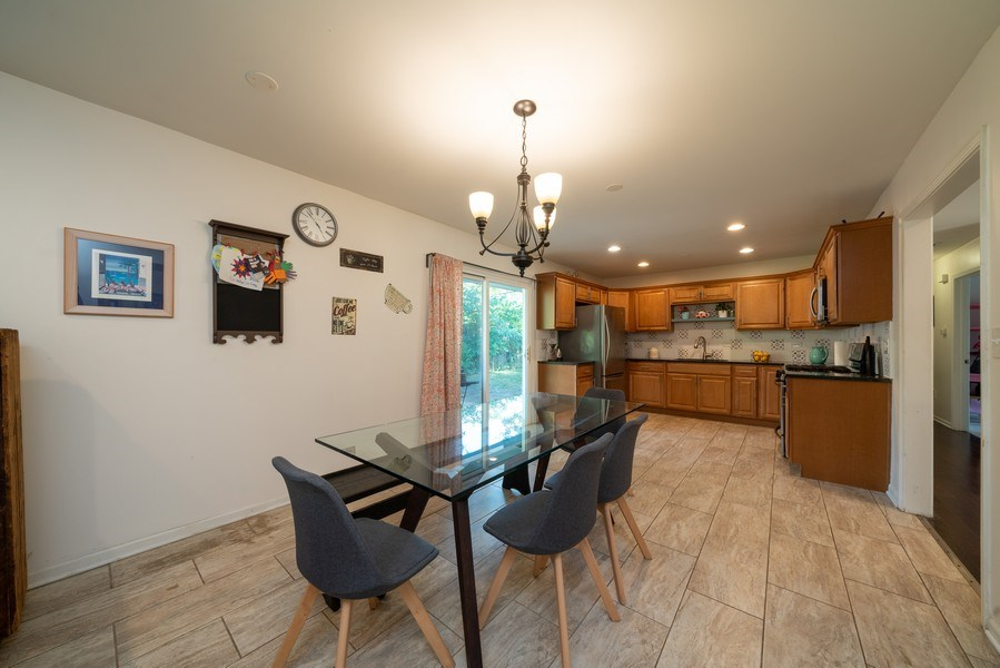 Real Estate Photography - 963 N Highland Ave, Aurora, IL, 60506 - Kitchen / Dining Room