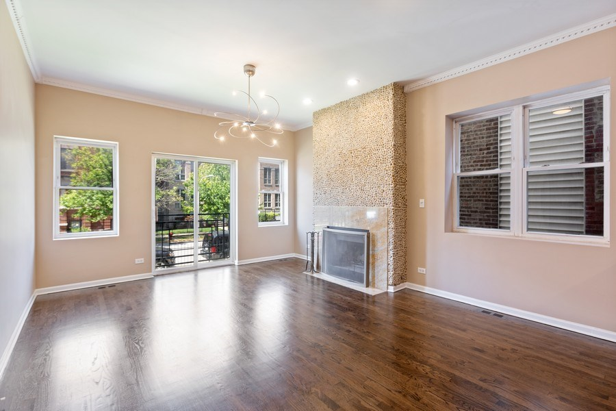 Real Estate Photography - 4431 S Calumet, 1N, Chicago, IL, 60653 - Dining Area