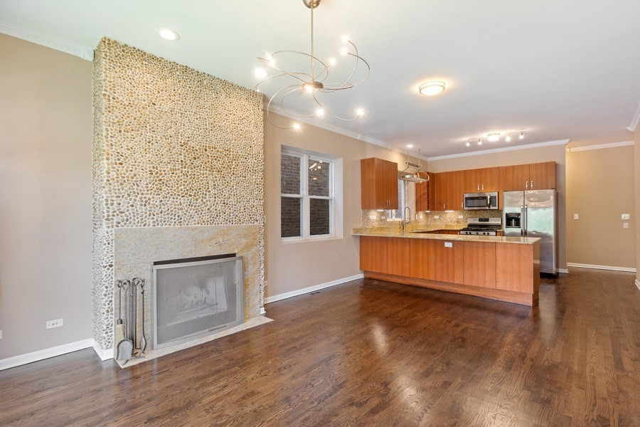 Real Estate Photography - 4431 S Calumet, 1N, Chicago, IL, 60653 - Kitchen / Dining Room
