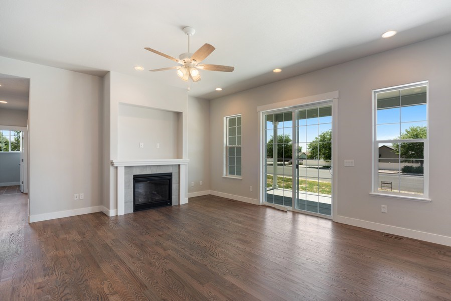 Real Estate Photography - 401 Cascade Ct, Johnstown, CO, 80534 - Family Room