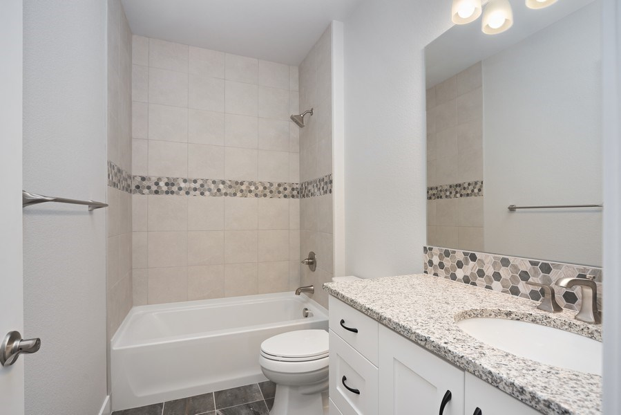 Real Estate Photography - 401 Cascade Ct, Johnstown, CO, 80534 - 2nd Bathroom