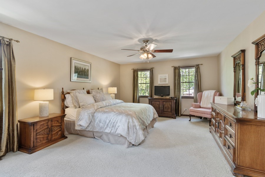 Real Estate Photography - 2250 Charter Point, Arlington Heights, IL, 60004 - Master Bedroom