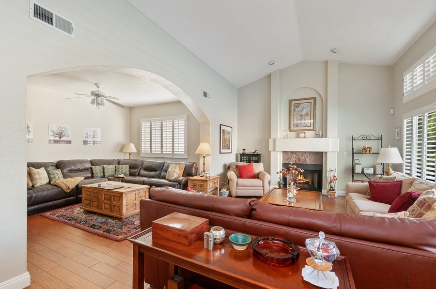 Real Estate Photography - 7811 Mount Angel Dr, Las Vegas, NV, 89123 - Family Room