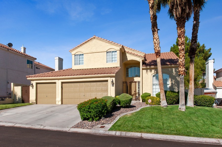 Real Estate Photography - 7811 Mount Angel Dr, Las Vegas, NV, 89123 - Front View