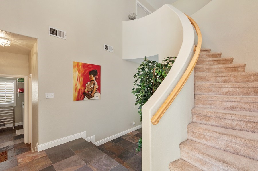 Real Estate Photography - 7811 Mount Angel Dr, Las Vegas, NV, 89123 - Staircase