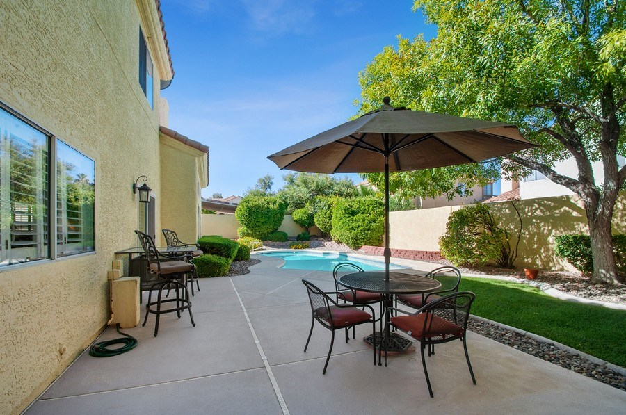 Real Estate Photography - 7811 Mount Angel Dr, Las Vegas, NV, 89123 - Patio
