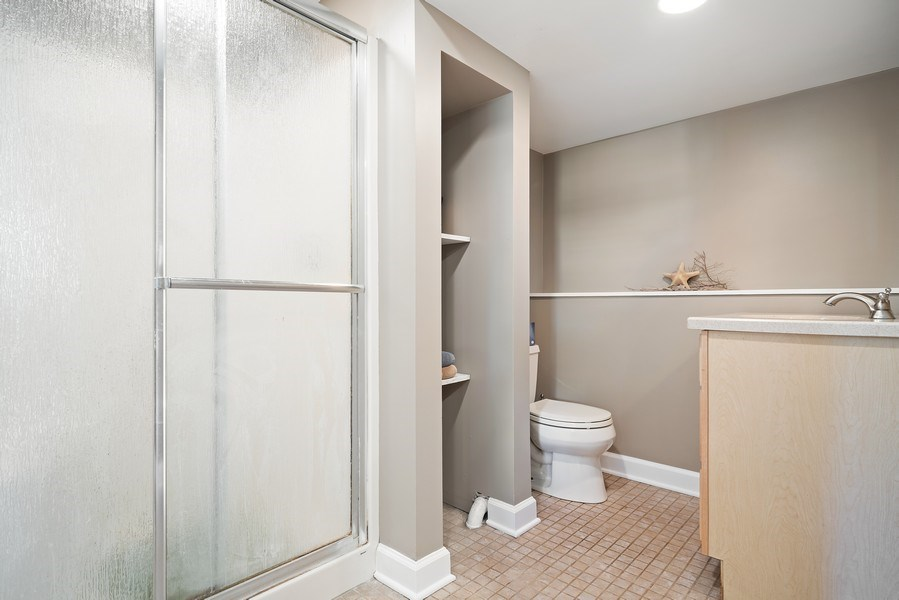 Real Estate Photography - 7819 Chestnut Ave, Woodridge, IL, 60517 - 3rd Bathroom