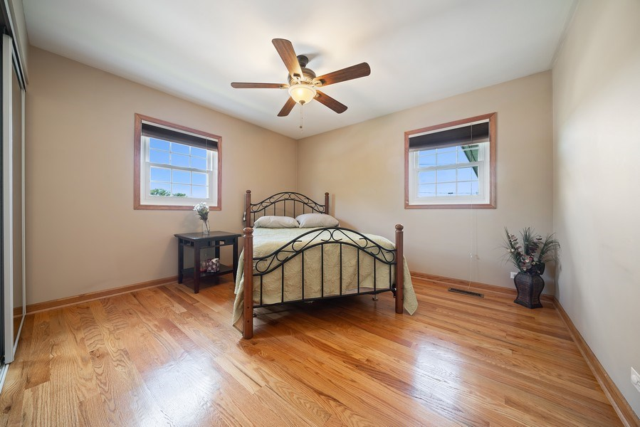 Real Estate Photography - 7819 Chestnut Ave, Woodridge, IL, 60517 - 2nd Bedroom