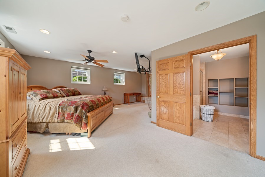 Real Estate Photography - 7819 Chestnut Ave, Woodridge, IL, 60517 - Master Bedroom
