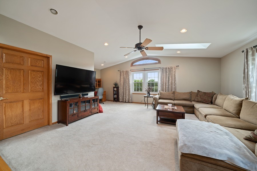 Real Estate Photography - 7819 Chestnut Ave, Woodridge, IL, 60517 - Family Room