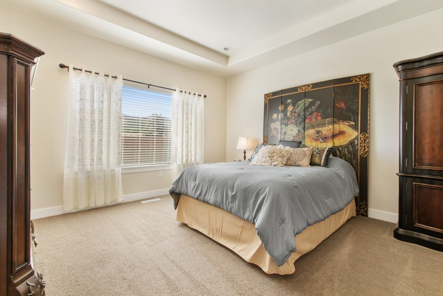 Real Estate Photography - 12067 N Burgh Way, Highland, UT, 84003 - Bedroom