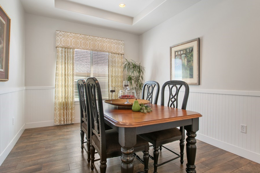 Real Estate Photography - 12067 N Burgh Way, Highland, UT, 84003 - Dining Room