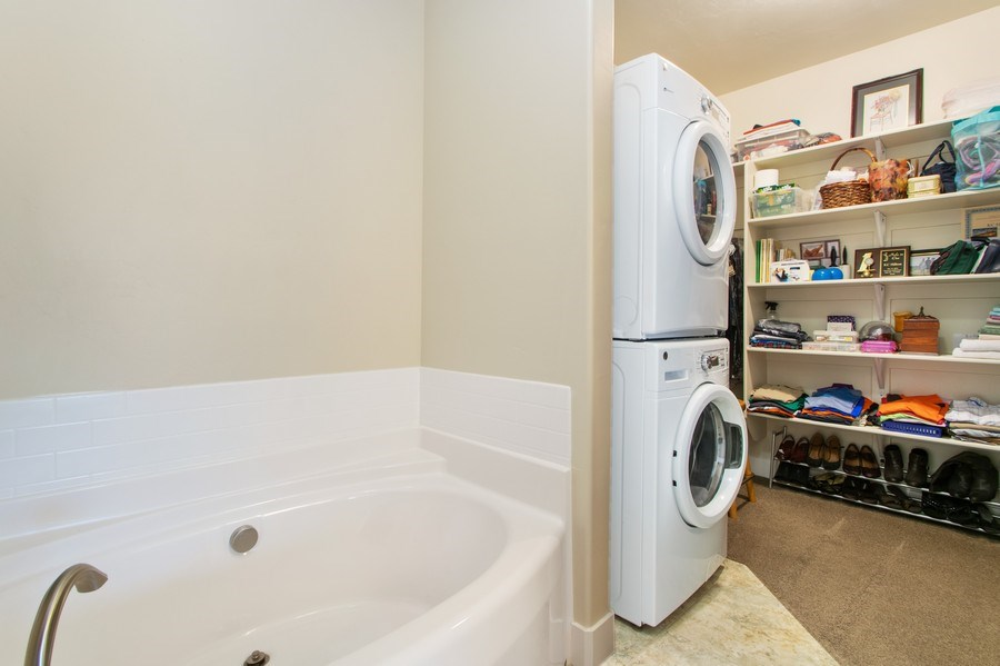 Real Estate Photography - 12067 N Burgh Way, Highland, UT, 84003 - Laundry Room