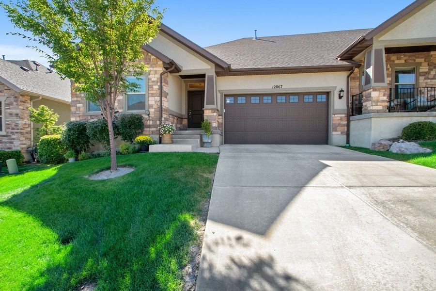 Real Estate Photography - 12067 N Burgh Way, Highland, UT, 84003 - Front View