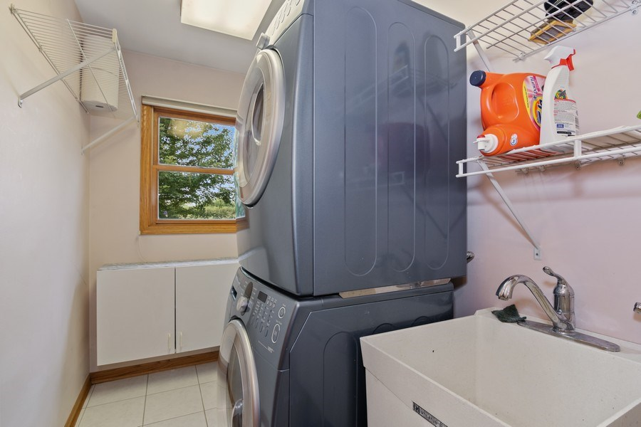 Real Estate Photography - 22W155 Glenrise Ct, Glen Ellyn, IL, 60137 - Laundry Room