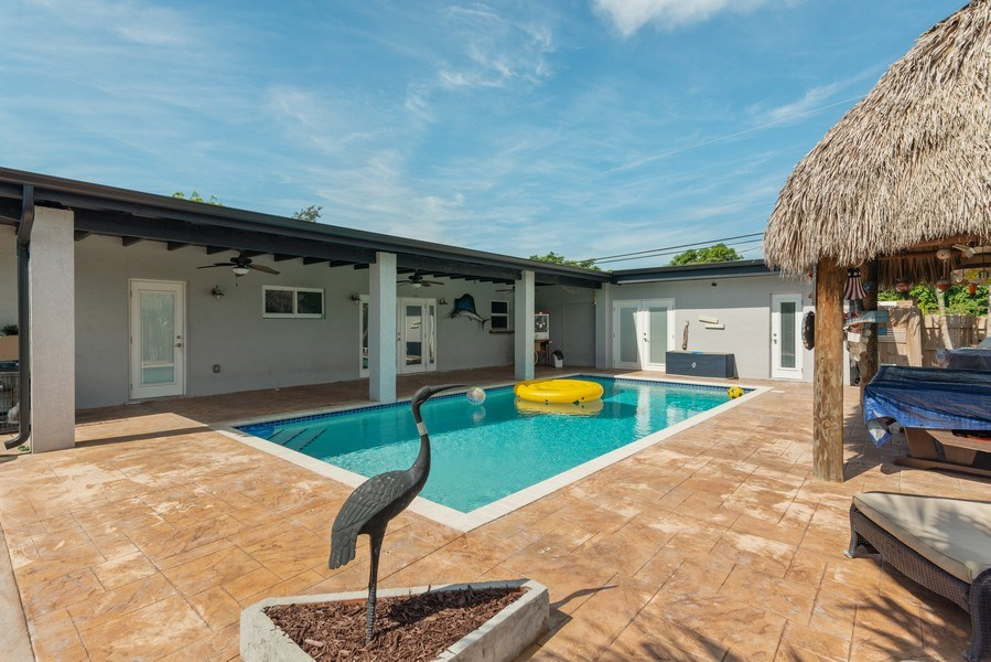 Real Estate Photography - 9305 SW 179th Terrace, Palmetto Bay, FL, 33157 - Back Yard