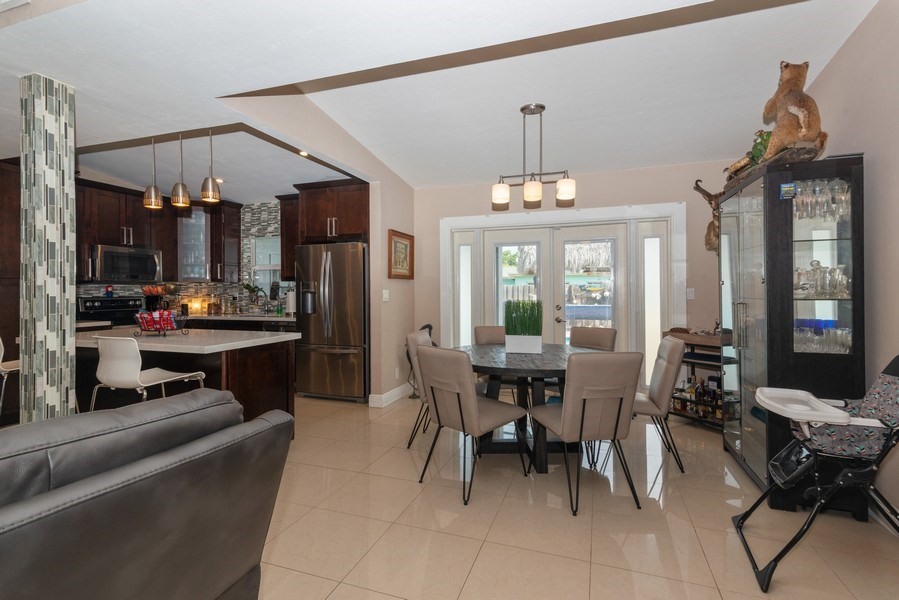 Real Estate Photography - 9305 SW 179th Terrace, Palmetto Bay, FL, 33157 - Kitchen / Dining Room
